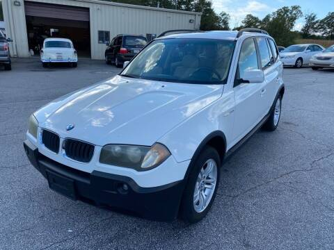 2005 BMW X3 for sale at Brewster Used Cars in Anderson SC