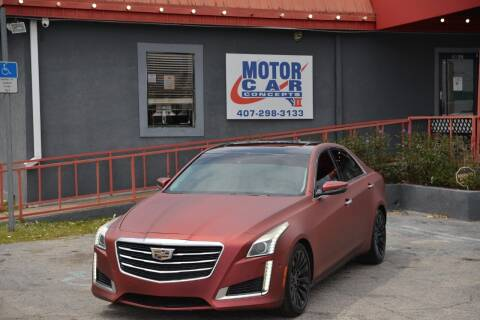 2015 Cadillac CTS for sale at Motor Car Concepts II - Kirkman Location in Orlando FL