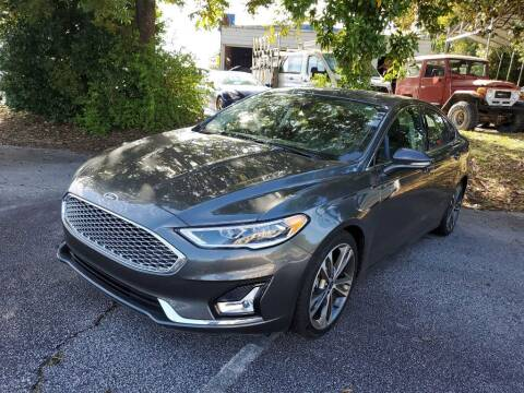 2020 Ford Fusion for sale at THE TRAIN AUTO SALES & LEASING in Mauldin SC