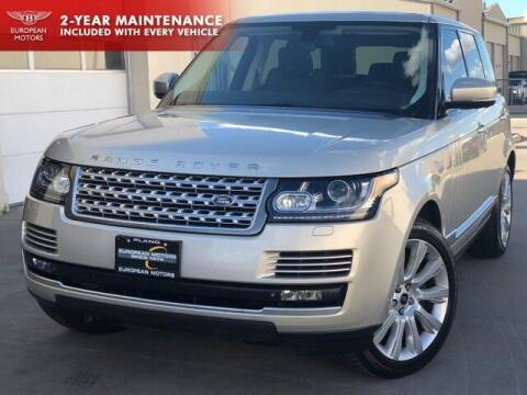 2013 Land Rover Range Rover for sale at European Motors Inc in Plano TX