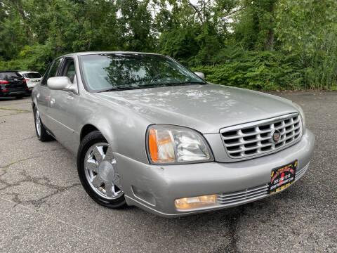 2005 Cadillac DeVille for sale at JerseyMotorsInc.com in Teterboro NJ