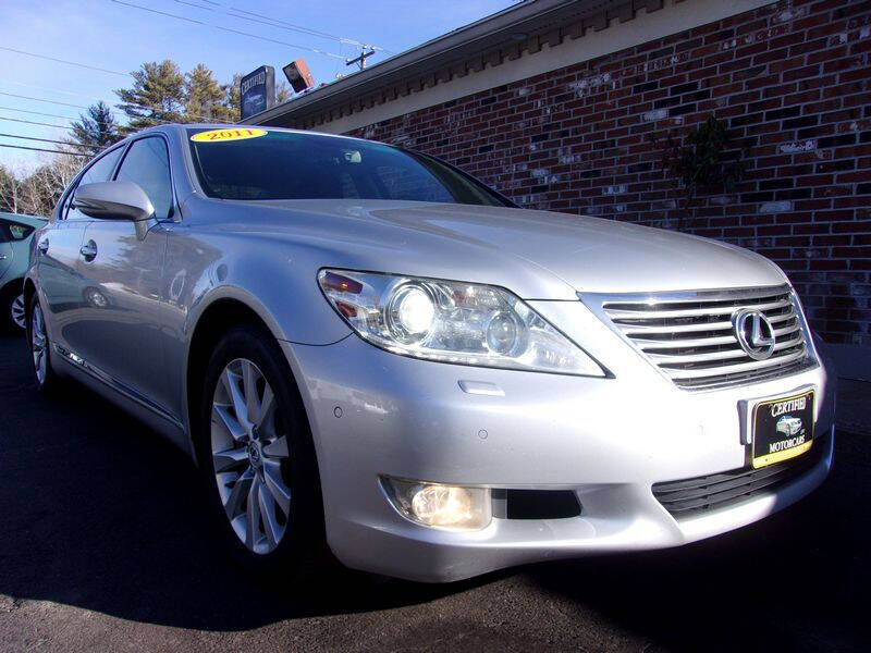 2011 Lexus LS 460 for sale at Certified Motorcars LLC in Franklin NH