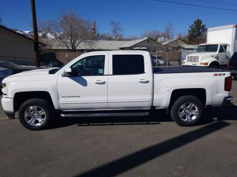 2016 Chevrolet Silverado 1500 for sale at Freds Auto Sales LLC in Carson City NV