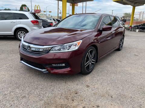2016 Honda Accord for sale at BID & WIN MOTORS in El Paso TX