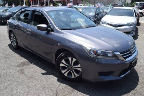 2015 Honda Accord for sale at VNC Inc in Paterson NJ