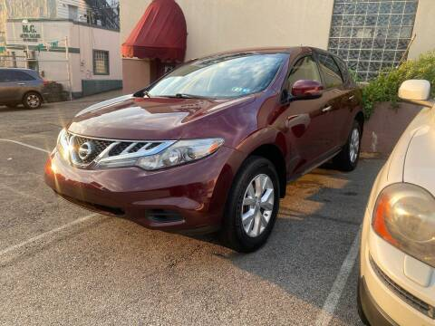 2012 Nissan Murano for sale at MG Auto Sales in Pittsburgh PA