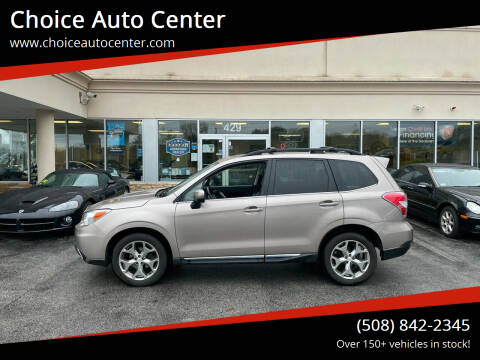 2015 Subaru Forester for sale at Choice Auto Center in Shrewsbury MA