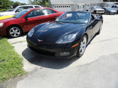 2007 Chevrolet Corvette for sale at John's Auto Sales in Council Bluffs IA