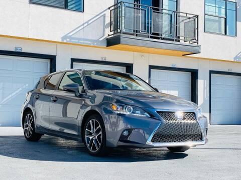 2016 Lexus CT 200h for sale at Avanesyan Motors in Orem UT
