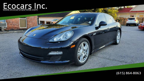 2011 Porsche Panamera for sale at Ecocars Inc. in Nashville TN