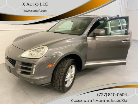 2008 Porsche Cayenne for sale at X Auto LLC in Pinellas Park FL