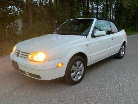 2002 Volkswagen Cabrio for sale at Next Autogas Auto Sales in Jacksonville FL