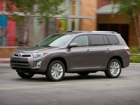 2013 Toyota Highlander Hybrid for sale at Sundance Chevrolet in Grand Ledge MI