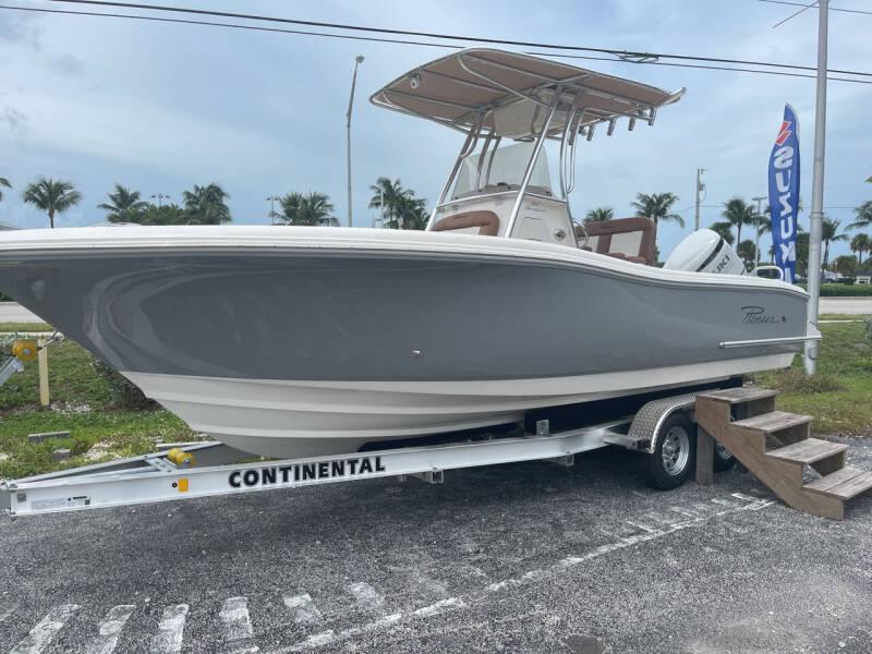 2022 Pioneer 222 Sport Fish for sale at Key West Kia - Wellings Automotive & Suzuki Marine in Marathon FL