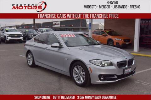 2015 BMW 5 Series for sale at Choice Motors in Merced CA
