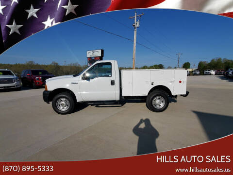 2006 Ford F-250 Super Duty for sale at Hills Auto Sales in Salem AR