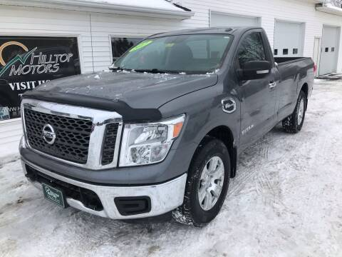 2017 Nissan Titan for sale at HILLTOP MOTORS INC in Caribou ME