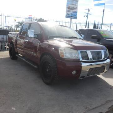 2006 Nissan Titan for sale at Luxor Motors Inc in Pacoima CA