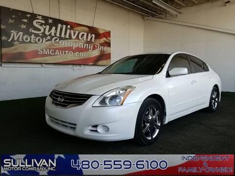 2012 Nissan Altima for sale at SULLIVAN MOTOR COMPANY INC. in Mesa AZ