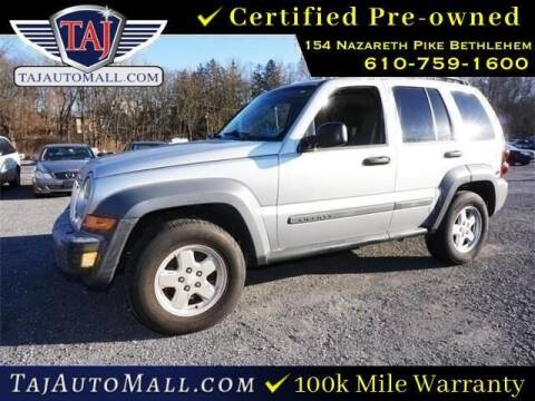 2005 Jeep Liberty for sale at Taj Auto Mall in Bethlehem PA