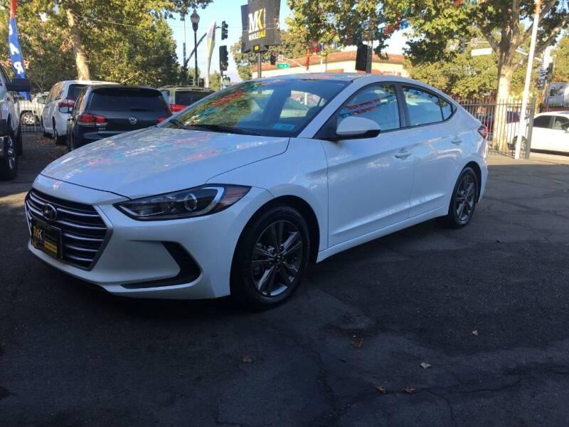 2017 Hyundai Elantra for sale at MK Auto Wholesale in San Jose CA