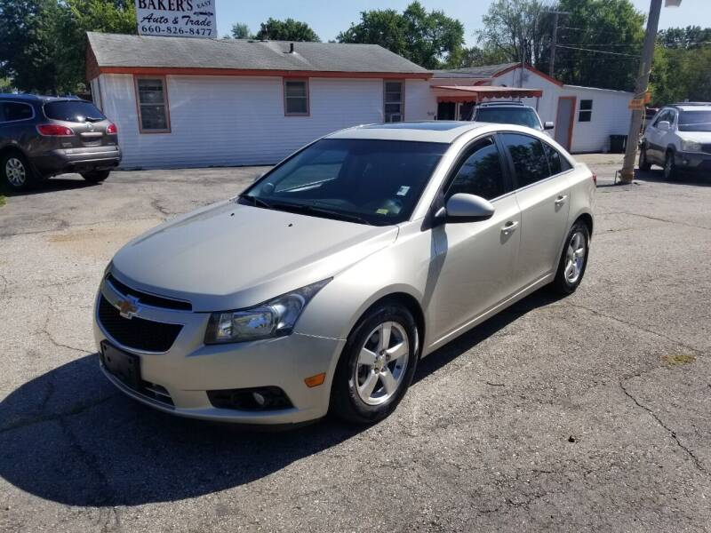 2014 Chevrolet Cruze for sale at Bakers Car Corral in Sedalia MO