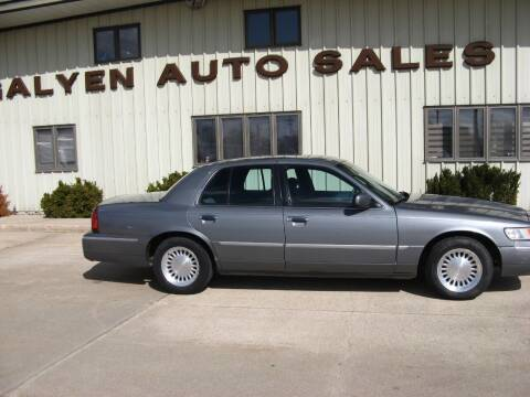 1999 Mercury Grand Marquis for sale at Galyen Auto Sales Inc. in Atkinson NE