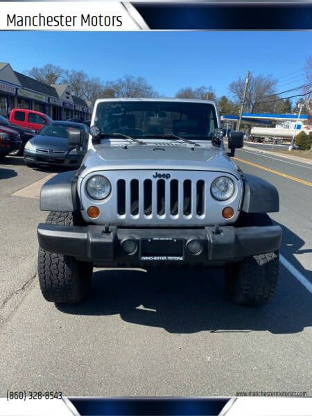 2007 Jeep Wrangler for sale at Manchester Motors in Manchester CT