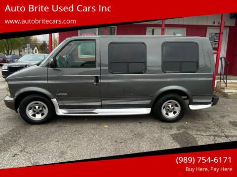 2001 Chevrolet Astro for sale at Auto Brite Used Cars Inc in Saginaw MI
