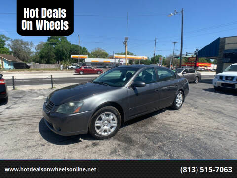 2006 Nissan Altima for sale at Hot Deals On Wheels in Tampa FL