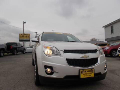 2014 Chevrolet Equinox for sale at Kevin Harper Auto Sales in Mount Zion IL