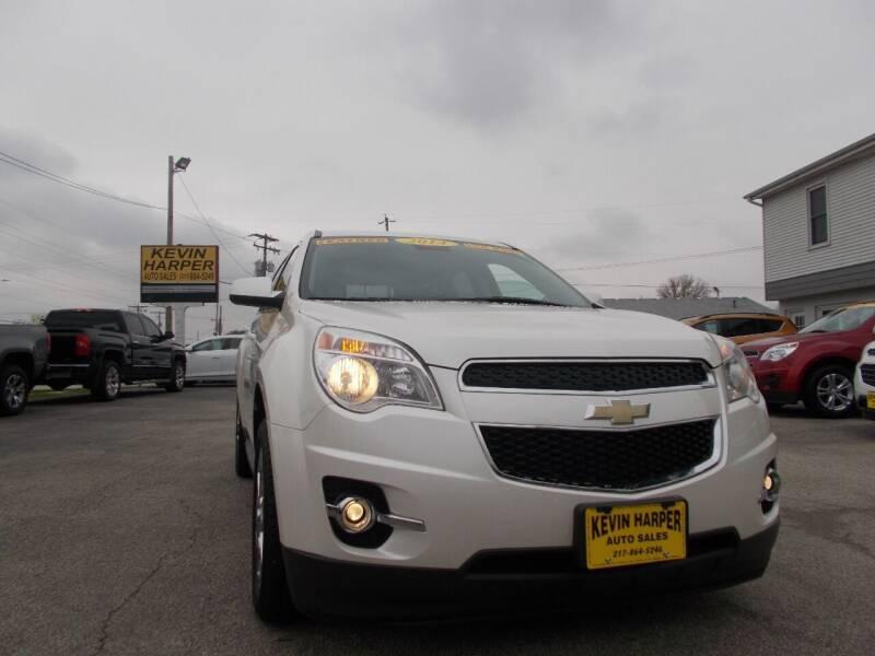 2014 Chevrolet Equinox for sale at Kevin Harper Auto Sales in Mount Zion IL