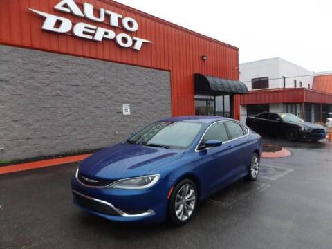 2015 Chrysler 200 for sale at Auto Depot - Madison in Madison TN