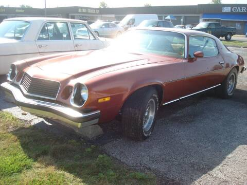 1974 Chevrolet Camaro for sale at Naperville Auto Haus Classic Cars in Naperville IL
