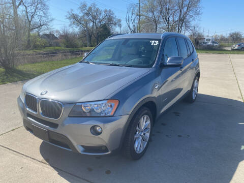 2013 BMW X3 for sale at Mr. Auto in Hamilton OH