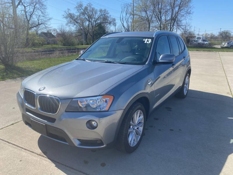 2013 BMW X3 for sale at Mr. Auto in Hamilton OH