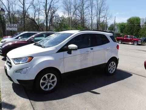 2018 Ford EcoSport for sale at Dave's Car Corner in Hartford City IN