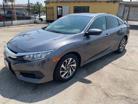 2018 Honda Civic for sale at JR'S AUTO SALES in Pacoima CA
