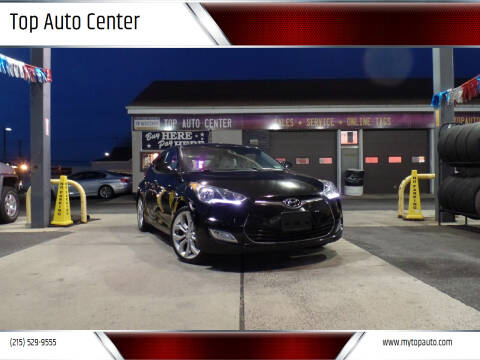 2013 Hyundai Veloster for sale at Top Auto Center in Quakertown PA