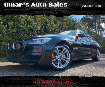 2013 BMW 7 Series for sale at Omar's Auto Sales in Martinez GA