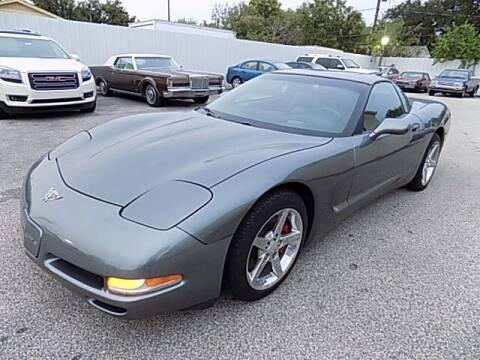 2003 Chevrolet Corvette for sale at Texas Motor Sport in Houston TX