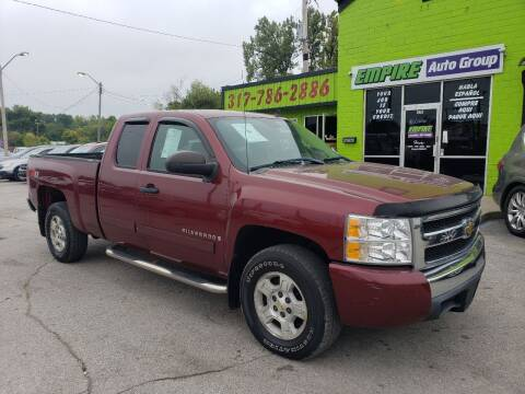 2008 Chevrolet Silverado 1500 for sale at Empire Auto Group in Indianapolis IN
