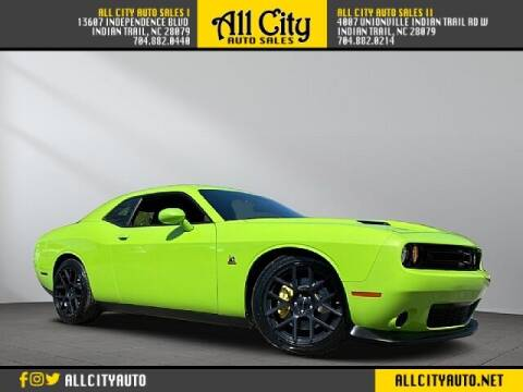 2015 Dodge Challenger for sale at All City Auto Sales in Indian Trail NC