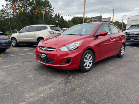 2014 Hyundai Accent for sale at Affordable Auto Sales in Webster WI