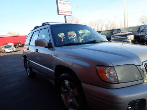 2001 Subaru Forester for sale at Marty's Auto Sales in Savage MN