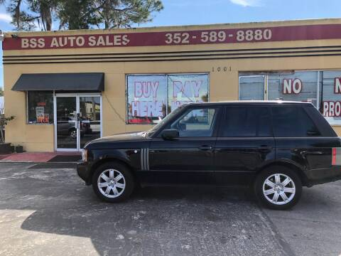 2008 Land Rover Range Rover for sale at BSS AUTO SALES INC in Eustis FL
