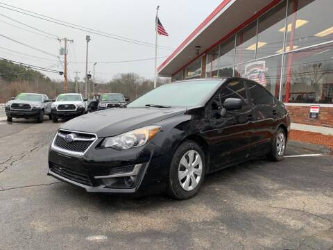 2015 Subaru Impreza for sale at USA Motor Sport inc in Marlborough MA
