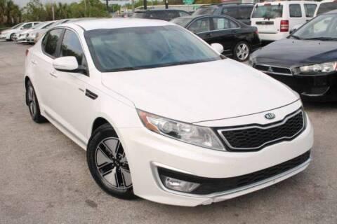 2013 Kia Optima Hybrid for sale at Mars auto trade llc in Kissimmee FL