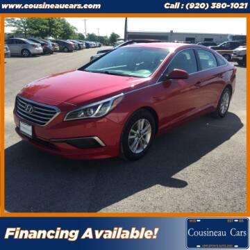 2017 Hyundai Sonata for sale at CousineauCars.com in Appleton WI