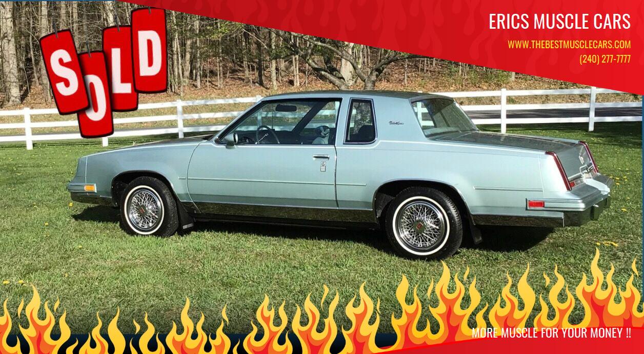 1982 Oldsmobile Cutlass Supreme SOLD SOLD SOLD